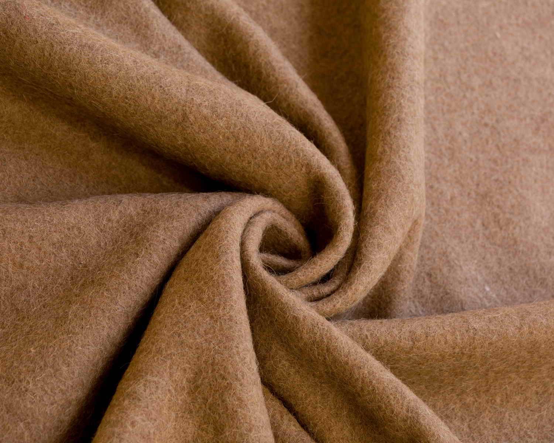 Brown Wool Fabric